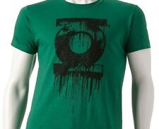 Green Latern DC Comica Mens Dripping Tee TShirt Alan Scott Corps NYC NEW