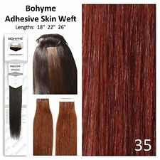 Bohyme Tape-In Skin Weft 100% Remi Human Hair Extensions Color 35