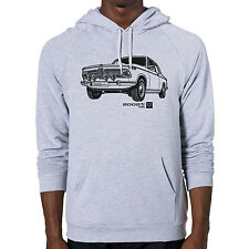 1968 BMW 2002 ti Graphic printed on Men's American Apparel Pullover Hoodie
