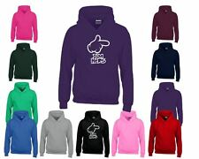 Mens I'mHers Hoodie Hooded Pullover Sweat Kids Sweat Hoody Jumper Sports Casual