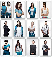 WENTWORTH PRISON TV SHOW AND DVD SELECT A CHARACTER FRIDGE MAGNETS UK SELLER