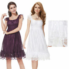 Ever Pretty Sexy Lace Cocktail Short Party Dresses Sleeveless 02713 US Seller