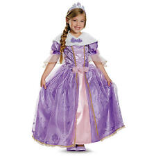 Disney Girls Rapunzel Prestige Halloween Costume - Child Size