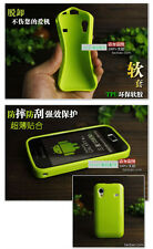 For Samsung Galaxy Ace S5830i S5839 S5830 Soft TPU Gel Case Back Skin Cover
