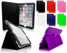 Magnetic Leather PU Folio Folding Stand Cover Case For Apple iPad Air 2 iPad 6