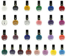 26Colors Professional Painting Konad Stamping Nail Varnish Manicure Lacquer