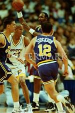 AV729 Karl Mailman Malone & John Stockton Jazz Basketball 8x10 11x14 16x20 Photo