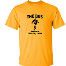 Jerome Bettis T-Shirt The Bus Last Stop T Shirt Pittsburgh Steelers