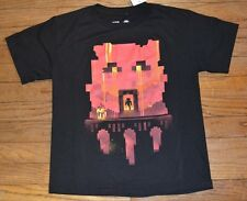 Minecraft Short Sleeve Boys Youth Character T-Shirt Officially Licensed