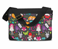 Cute Astrology Star Signs Messenger Bag - Laptop School Shoulder Bag