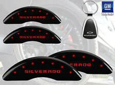 Custom Color 2015 Chevrolet Silverado 2500 HD MGP Caliper Cover Font Rear
