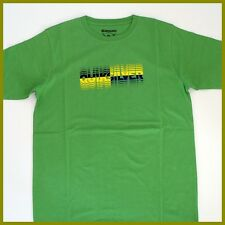 QUIKSILVER T-Shirt MENS *Size:S Small* New.GREEN Authentic Brand Quicksilver Tee