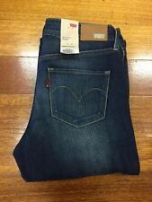 Levi's Women's Demi Curve ID Straight Jeans Color Overcast 047000023 BNWT