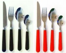 16 Piece Orbit Stainless Steel Tableware Dining Cutlery Set + Wire Stand New
