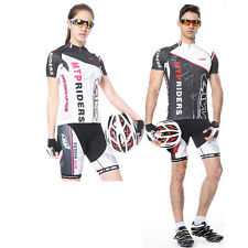 Couple Cycling Bike Short Sleeve Sports Clothing Bicycle Ciclismo Jersey+Short
