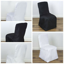 Polyester Square Back Chivari CHAIR COVERS Wedding Party Reception Wholesale
