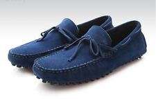 New Mens suede leather Lined casual Moccasins driving loafer slip on shoes