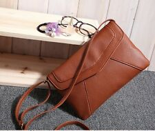 New Womens Handbag Messenger Ladies Fashion PU Crossbody Satchel Shoulder Bag