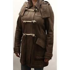 91137 montgomery BURBERRY BRIT SHEARLING montone cappotto donna jacket men
