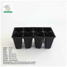 8-cell RIGID Plastic SEEDLING PUNNETS. Seed propagation. Fits 10 punnet a tray.