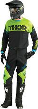 THOR Phase Kit Hyperion GREEN BLACK 2016 Motocross Enduro Pant & Jersey
