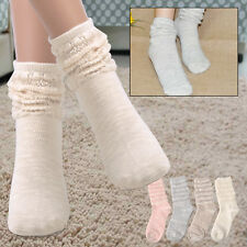 Fashion Cute Women female Girls High Ankle Socks Japanese style Loose Slouch