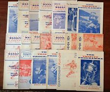 Wakefield Trinity Rugby League Programmes 1961 - 1974