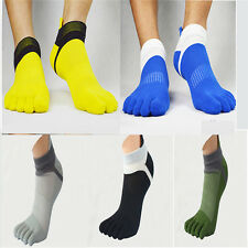 1 Pairs New Men's Socks Pure Cotton Sport Five Finger Socks Toe Socks Breathable