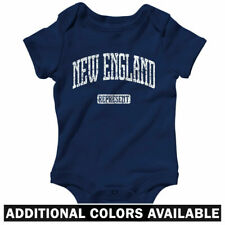 New England Represent One Piece - Patriots Baby Infant Creeper Romper  NB to 24M