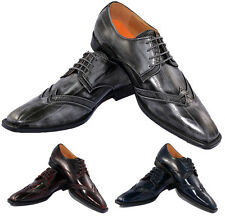 NEW Men Wingtip Fashion Dress Shoes Elegant Look Shine Antonio Cerrelli 6533