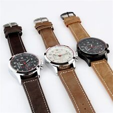 CURREN Unisex Stunning Quartz Analog Faux Leather Strap Wrist Watch New Arrival