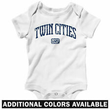 Twin Cities One Piece - Minneapolis St Paul Baby Infant Creeper Romper NB to 24M