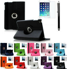 360 Rotating PU Leather Folio Case Smart Cover Stand For Apple iPad 2 3 4