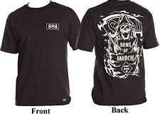 Metal Mulisha Men's Sons Of Anarchy SOA T-Shirt Grim Reaper Black Size S-XL