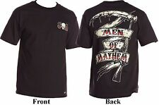 Metal Mulisha Sons Of Anarchy Men Of Mayhem Grim Reaper Scythe T-Shirt S-2XL