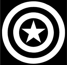Captain America Shield Decal - JDM, Import, Tuner, Car, Truck, Sticker