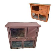 MONZA RABBIT HUTCH OUTDOOR WITH RUN 2 TWO TIER GUINEA PIG FERRET AND BUNNY
