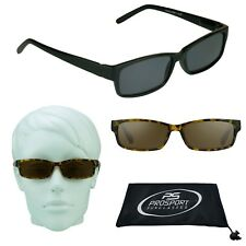 Full Lens Sun Reader Reading Sunglasses for Men & Women Smoke Brown 1.00 to 4.00