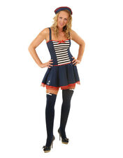 ROLEPLAY Ladies Womens Fancy Dress Costume Sexy Sailor Outfit Hen Night Party