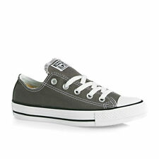 CONVERSE CHUCK TAYLOR ALL STAR SEASONAL OX CHARCOAL LOW CANVAS SHOES NEW