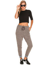 New Mink Pink Trim Track Pants in Grey   Womens Pants