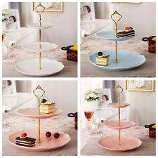Multi-style 2 or 3 Tier Cake Plate Stand Handle Fitting Hardware Rod Plate Stand