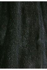 Fur Lining of recycled Mink black