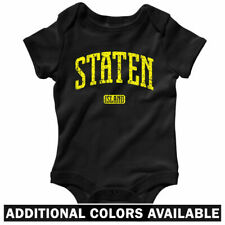 Staten Island NYC One Piece - New York Baby Infant Creeper Romper - NB to 24M