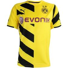 Puma BVB Borussia Dortmund Home Trikot Jersey 2014/2015 yellow Men's Shirt New