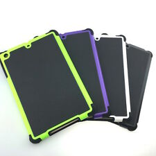 iPad Mini 1/2/3 Gen Hybrid Hard Armour Tough Shell Cover Silicone Case