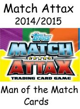 MATCH ATTAX 2014 2015 MAN OF THE MATCH MOTM CARDS TOPPS 14/15 2014/2015