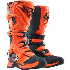 Fox Racing Youth Comp 5 Orange KTM Motocross Boots Enduro Quad Pitbike ATV Moto
