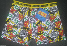 Justice League Mens HIPSTER Boxer Brief Pants Batman Superman Flash GreenLantern