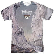 Yes Progressive Rock Band Relayer 1974 2-Side Sublimation Print Poly Shirt S-3XL